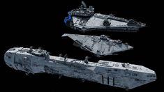 Star Wars Film, Star Wars Novels, Star Wars Rpg, Star Wars Ships, Starship Concept, Concept Ships, Concept Art, Star Wars Vehicles, Futuristic Armour
