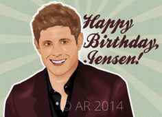 Illustrated Jensen for his 36th Birthday