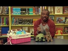 Use the lesson of this story to teach goal setting and perseverance.  ▶ 'The Tortoise and the Hare' Read by LeVar Burton - Reading Rainbow Story Time - YouTube  5:39