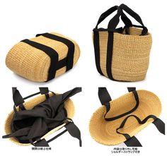 Crochet Tote, Crochet Handbags, Tote Bags Handmade, Purses And Bags, My Bags, Basket Bag, Summer Bags, Creations, Straw Bag