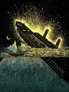 Click through here to hear a good album, RMS Titanic by Adam Young. Love the image