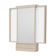 Pillangó tükör fehérített bükk fali Mirrors, Divider, Room, Butterfly, Furniture, Home Decor, Bedroom, Decoration Home, Room Decor