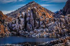 Snowfall - Watson Lake by Pat Kofahl on 500px