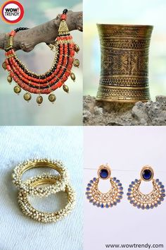 Ethnic jewelries for Indian women.....