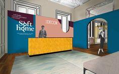 Marcante Testa / UdA Architetti Skerches for Elle Decor Soft Home, Milan Design Week 2016 | Yellowtrace