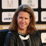 Storyline:  Kathy Carter Joins a Crowded Race for U.S. Soccer President: Carter, the president of Soccer United Marketing, has decades of…