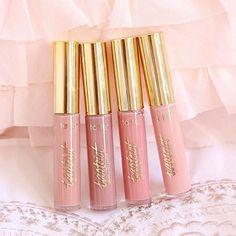 Tarte Cosmetics Tartiest Nudes full cover gloss ♡Follow my Pinterest @MANARELSAYED♡