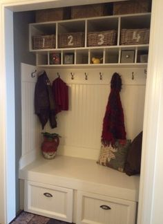 Coat Nook | Do It Yourself Home Projects from Ana White