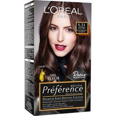 L'Oréal Paris Récital Préference Premium Fade-Defying Colour 5,21 Light Brown