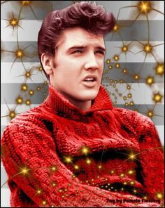 Elvis At Christmas - Elvis Presley Fan Art (9437659) - Fanpop