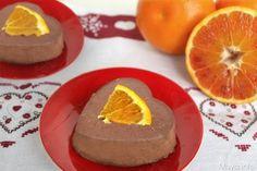 La panna cotta al cioccolato e arancia è uno dei dolci al cucchiaio più buoni che ho preparato finora, ho preso la ricetta classica per preparare la