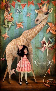 The Illustratosphere - Illustrations byJessica Grundy