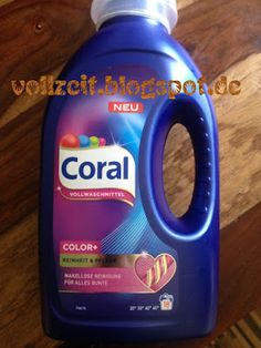 Vollzeit Produkttests: Das neue Coral Vollwaschmittel gratis testen