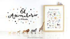 Ganador sorteo Animalario PPStudio | http://papelisimo.es/ganador-sorteo-animalario-ppstudio/