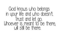 have to trust