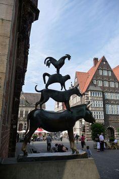 Die Bremer Stadtmusikanten Bremen, Germany