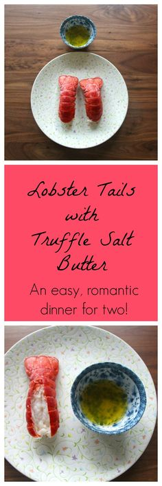 This lobster tail recipe is impressive, yet super easy to make. The perfect date night or Valentine's Day dinner for two!