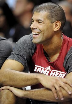 Shane Battier. I have a crush. Makes watching all this ball much more interesting. :)