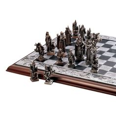 Amazon.com: Design Toscano Mystical Legends Chess Set: Patio, Lawn & Garden
