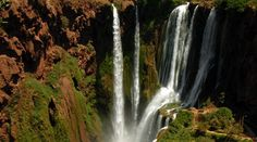 """Les Cascades d'Ouzoud Maroc """" www.diamanevoyages.com """" ."""
