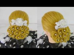 Bridal Design Hairstyle / Penteado Design de Noiva - YouTube