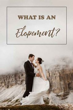 "What does it mean ""to elope"" nowadays and what is an elopement? Explaining a wedding trend we never knew we needed so badly. Got Married, Getting Married, Destination Wedding, Wedding Planning, Big Crowd, Burning Questions, Elopement Ideas, Planning Your Day, Throw A Party"