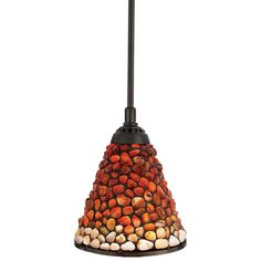 this pendant light is a showstopper