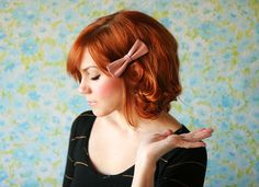 12 Hair Hacks For Short-Haired Girls via Brit + Co.