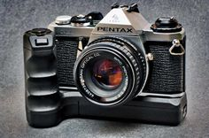 A personal favorite from my Etsy shop https://www.etsy.com/listing/507950333/pentax-me-slr-50mm-f2-prime-lens-winder