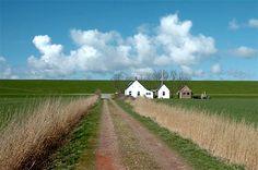 De Westpolder ontstond in 1875 na inpoldering. Aan de voet van de Waddendijk ligt het vakantiehuisje 'Noord Bromo', een voormalig oppassershuis en kooikerhuis.