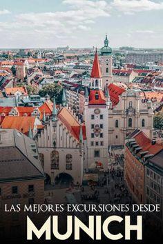 Excursiones de un sólo día desde Munich Paris Skyline, Places, Travel, Neuschwanstein Castle, Small Island, Medieval Castle, Travel Tips, Bavaria, Viajes