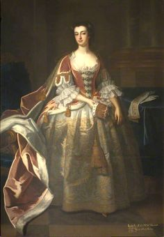 ca 1743 - Isabella Blackett, Countess of Buchan, by Enoch Seeman the Younger