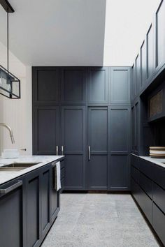 Kitchen: the Fairlig  Kitchen: the Fairlight house by Decus Interiors, winner of House and Gardens' Room of the Year 2015.