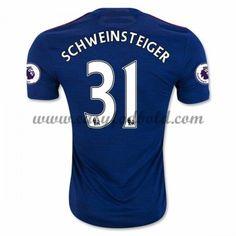 Fodboldtrøjer Premier League Manchester United 2016-17 Schweinsteiger 31 Udebanetrøje
