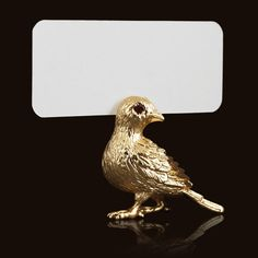 little bird place card holder