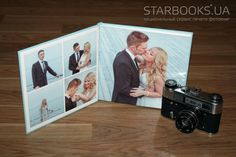 Классическая фотокнига с пластиковыми страницами Starbook Classic 20x20 от 277 грн