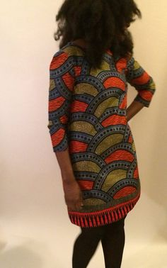 #Spring and #Summer #Trends: Shift dress..-TMC~~African print dress. New The Olivia Shift by ChenBCollection