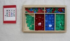 Stamp Game Dynamic Addition . The Montessori Math Stamp Game lesson comes at the end of Place Value and Decimal System work. The goal is to reinforce the four operations introduced with the Golden Beads but in a more abstract way.  http://carrotsareorange.com/montessori/montessori-early-childhood-lessons/