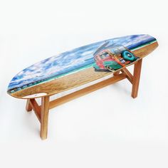 Banco Long Board Praia - R$ 525,00