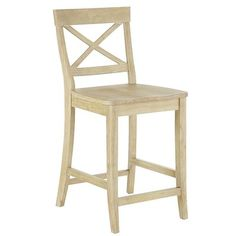 Zuo modern 98611 pasadena bar chair beige zuo modern for Tabouret de comptoir costco
