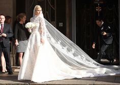 See Nicky Hilton's Gorgeous Valentino Wedding Dress via @WhoWhatWear