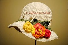 Colorful Spring Hat | Mom will love this jaunty bonnet.