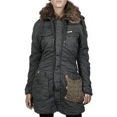 564da59a608e6a Khujo Chantal Parka olive aus der neuesten Winterkollektion 2013-2014  Wunderschöner Mantel vom Jackengenie Khujo