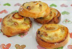 J'en veux encore plus!: Escargots briochés aux raisins thermomix