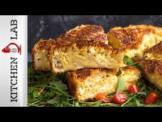 Greek feta cheese pie by Greek chef Akis Petretzikis. An authentic, traditional Greek feta cheese pie recipe that has a delicious cheesy souffle-like filling! Greek Cheese Pie, Cheese Pies, Feta, Cheese Pie Recipe, Lasagna Casserole, Spinach Lasagna, Greek Cooking, Greek Dishes, Moussaka