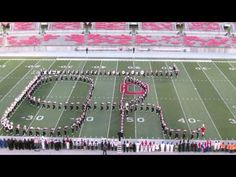 Ohio State Marching Band Script Ohio at Buckeye Invitational Great Sound 10 12 2013 from C Deck. The Buckeye Invitational is an annual Band fund raising even. Ohio State Marching Band, Dueling Banjos, High School Programs, Total Frat Move, The Magnificent Seven, The Buckeye State, It Band, Band Camp