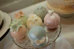 temari/bauble cakes
