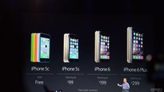 Apple drops iPhone 5S price to $99, makes iPhone 5C its free option