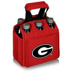 University of Georgia Six Pack Insulated Beverage Carrier w/Digital Print