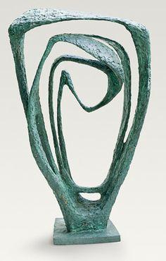 Barbara Hepworth, Garden Sculpture (Model for Meridian), 1958